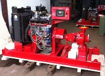 End Suction Type Diesel Engine Fire Pump Set