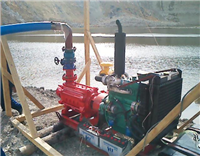 Multistage Type High Pressure Fire Fighting Pump