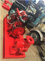 End Suction Type Diesel Engine Fire Fighting pump