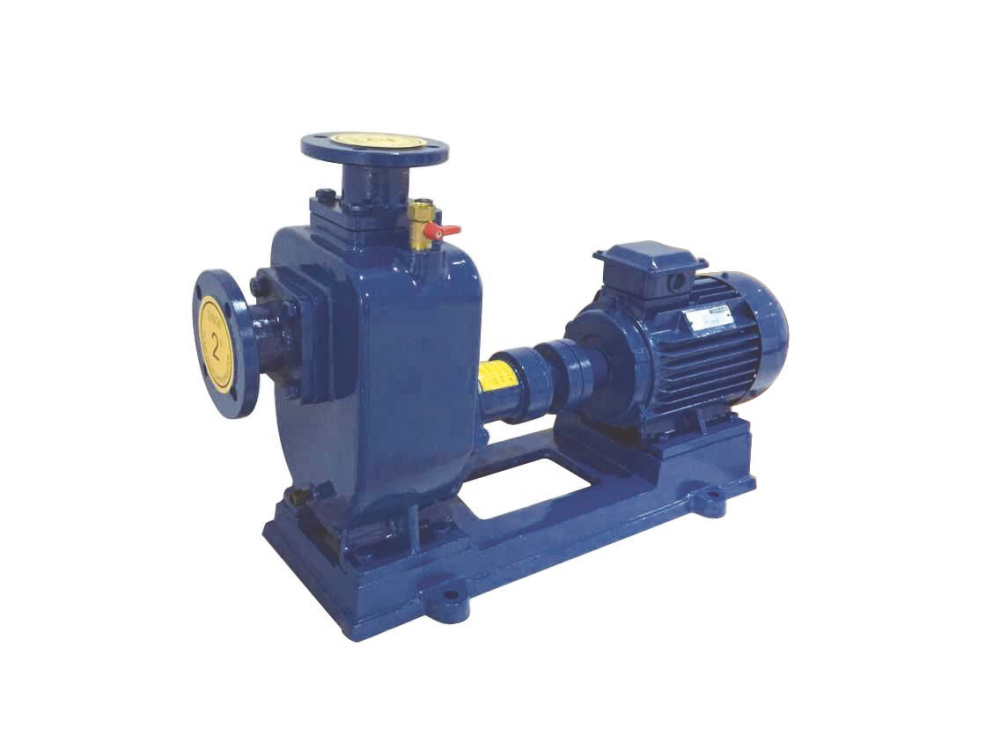 self priming trash pump